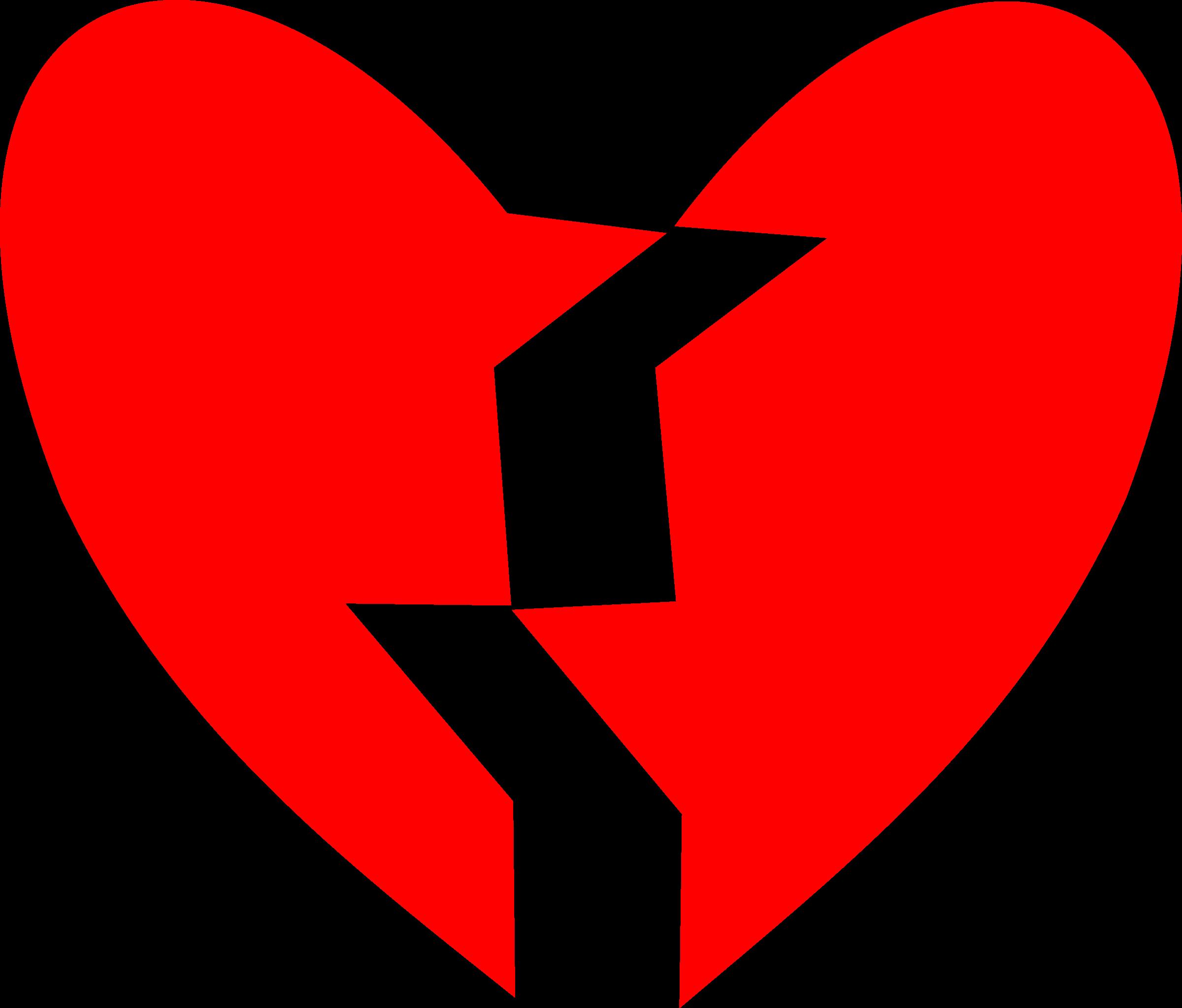 Heart clipart football. Broken big image png