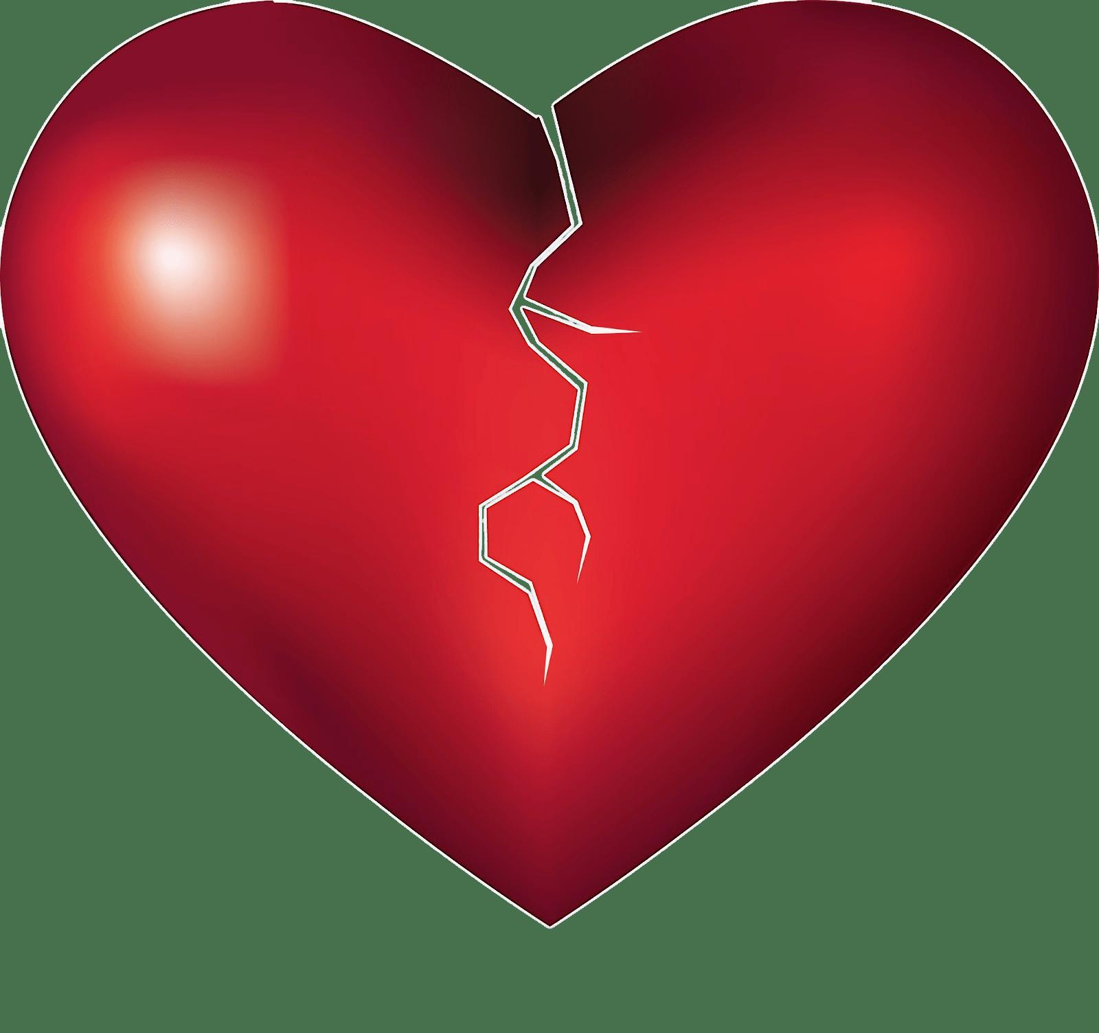 Breaking heart transparent png. People clipart broken hearted