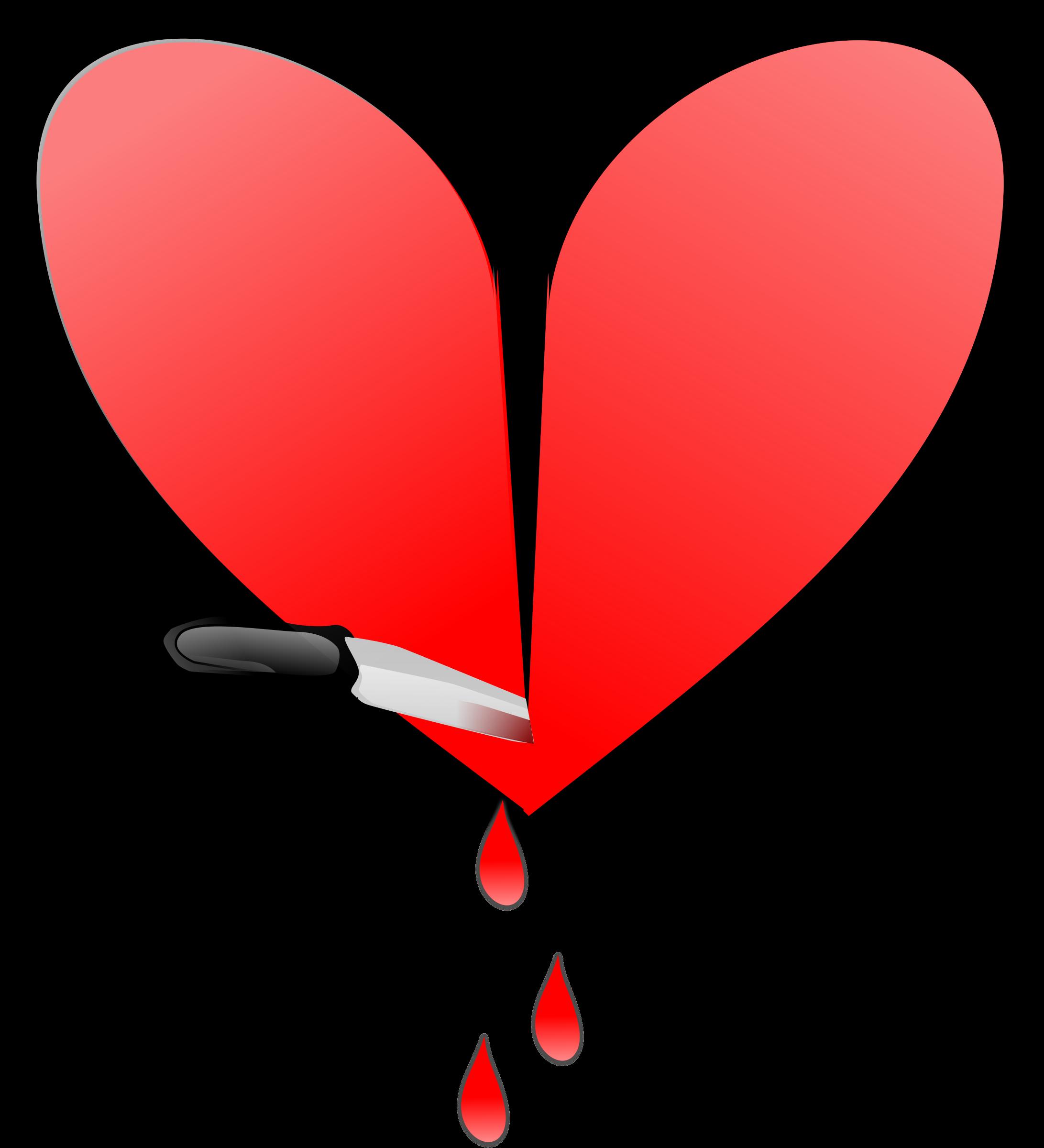 Heart big image png. People clipart broken hearted