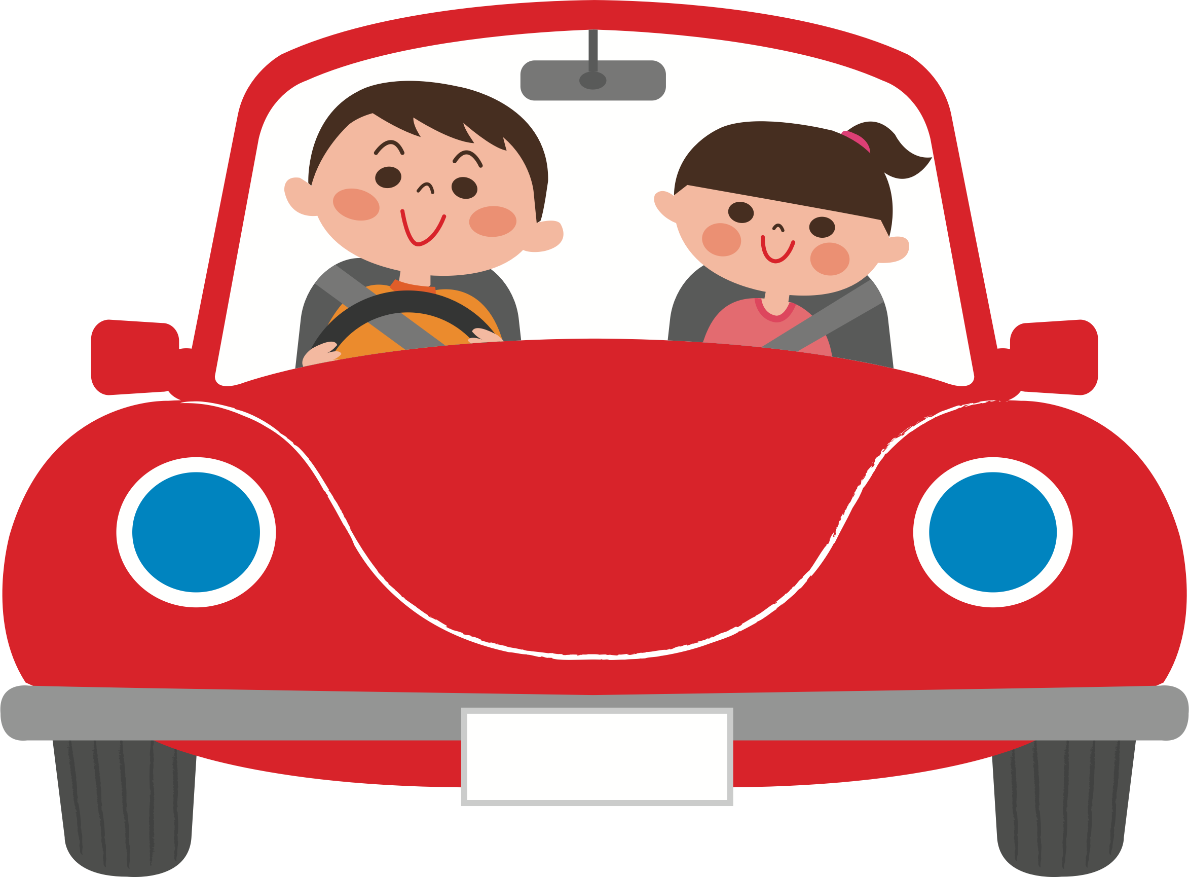 Ride big image png. Clipart people car