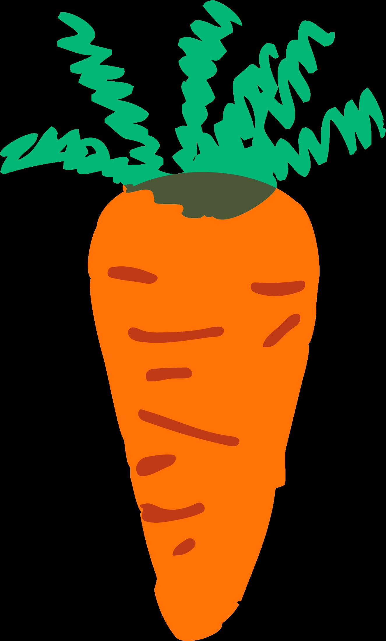 . Vegetables clipart carrot
