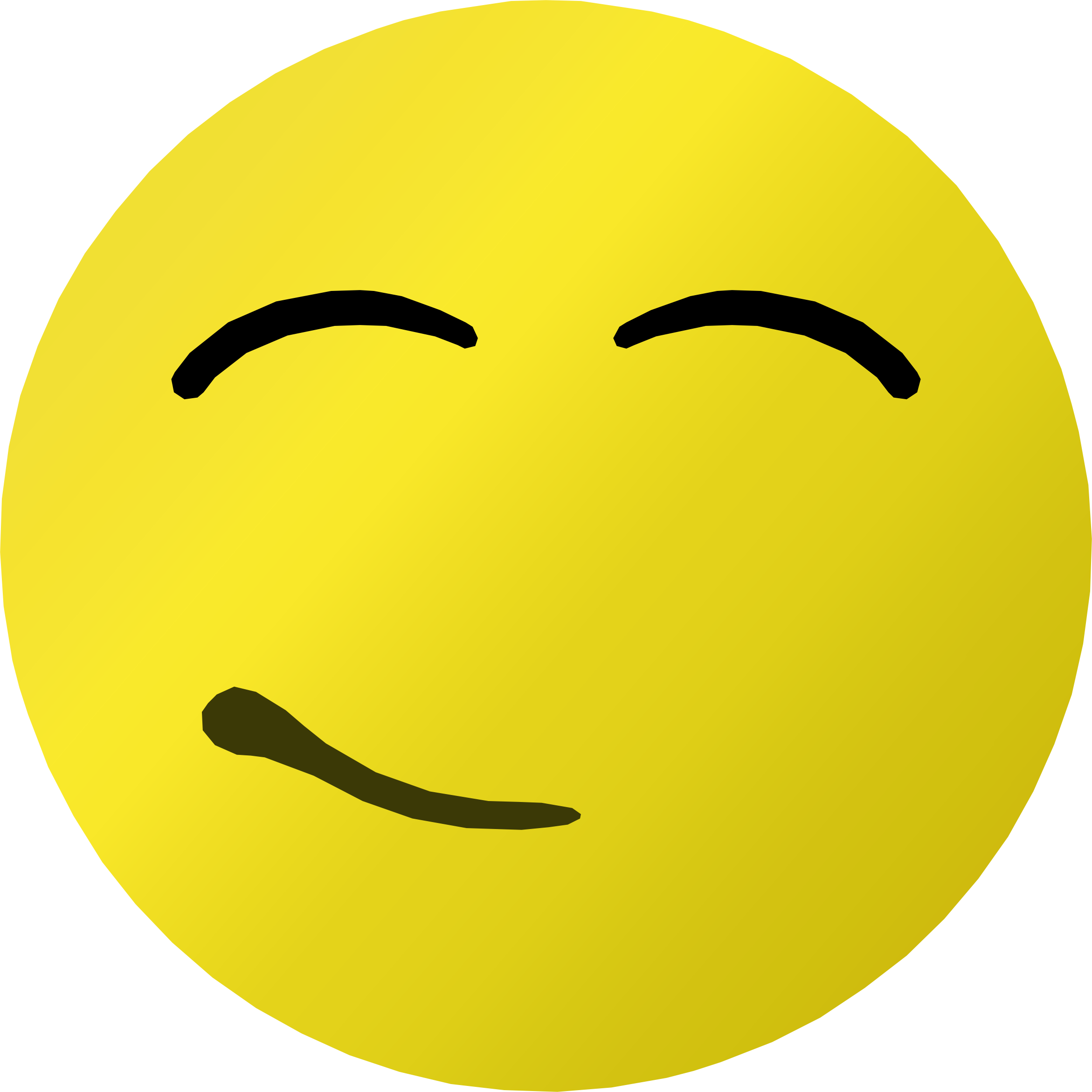 Smile satisfied
