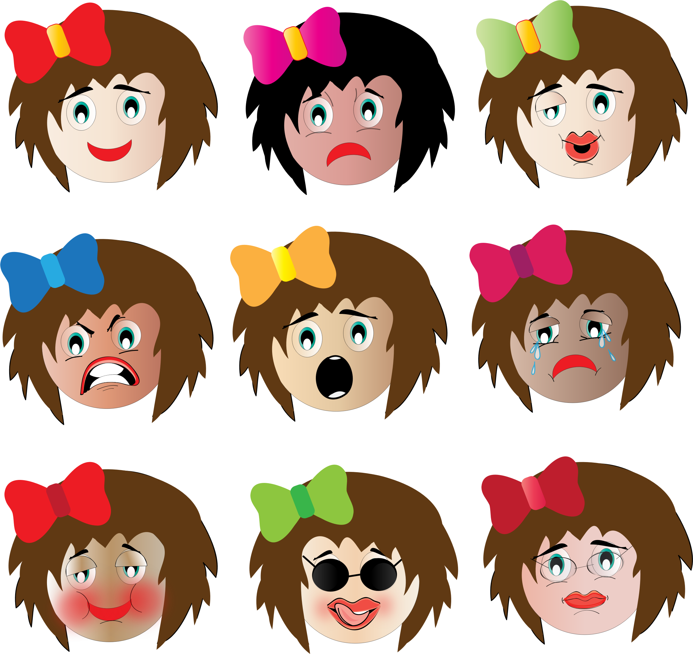 emotions clipart interesting
