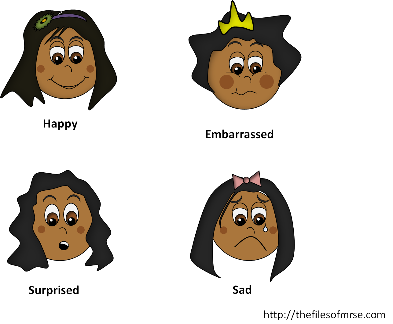 Emotion the files of. Surprise clipart little girl