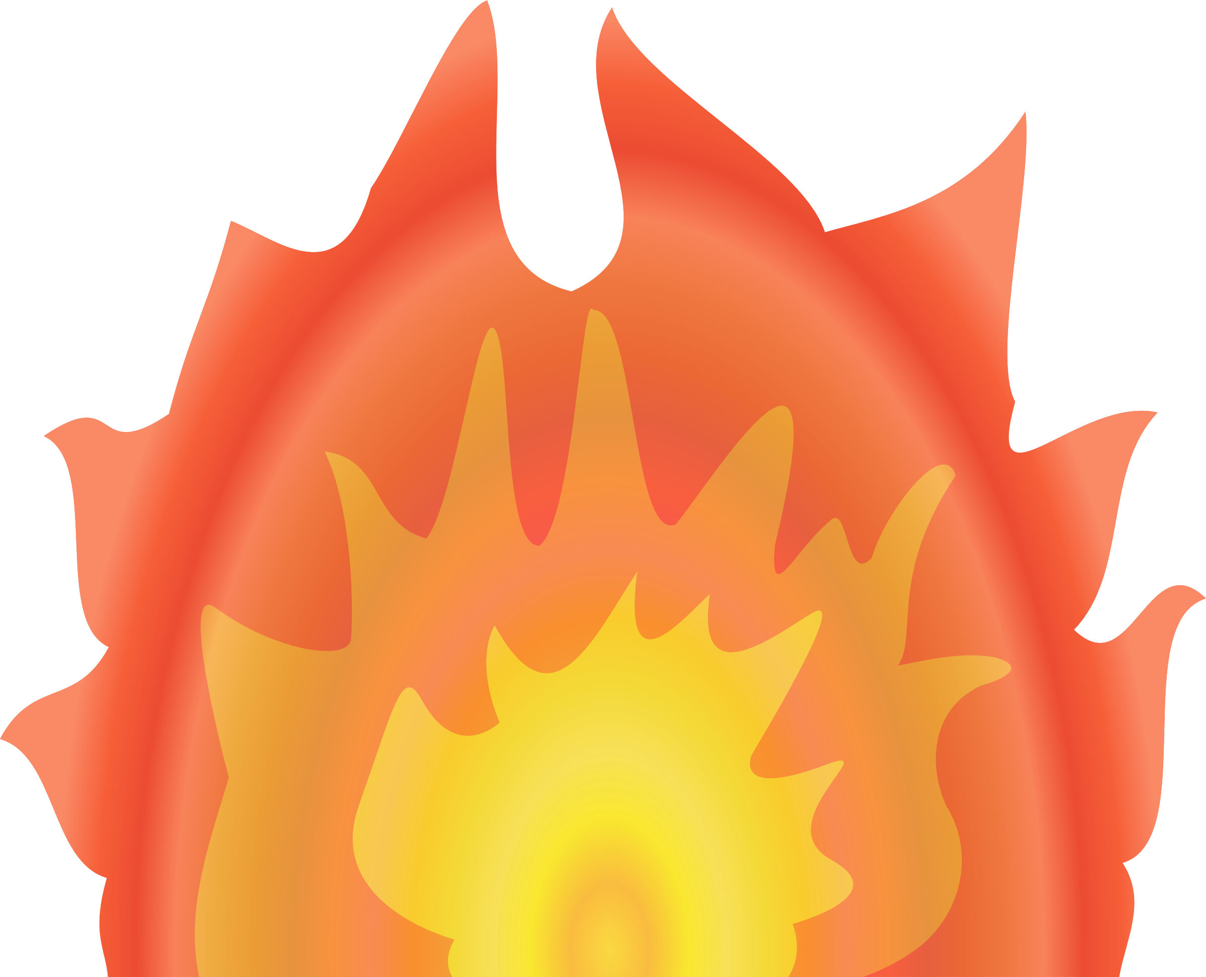 Flames clipart fire flower. Big image png