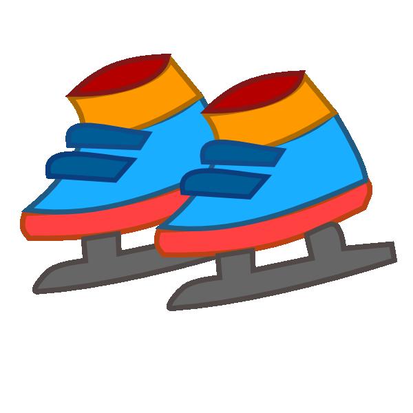 Skiing ice