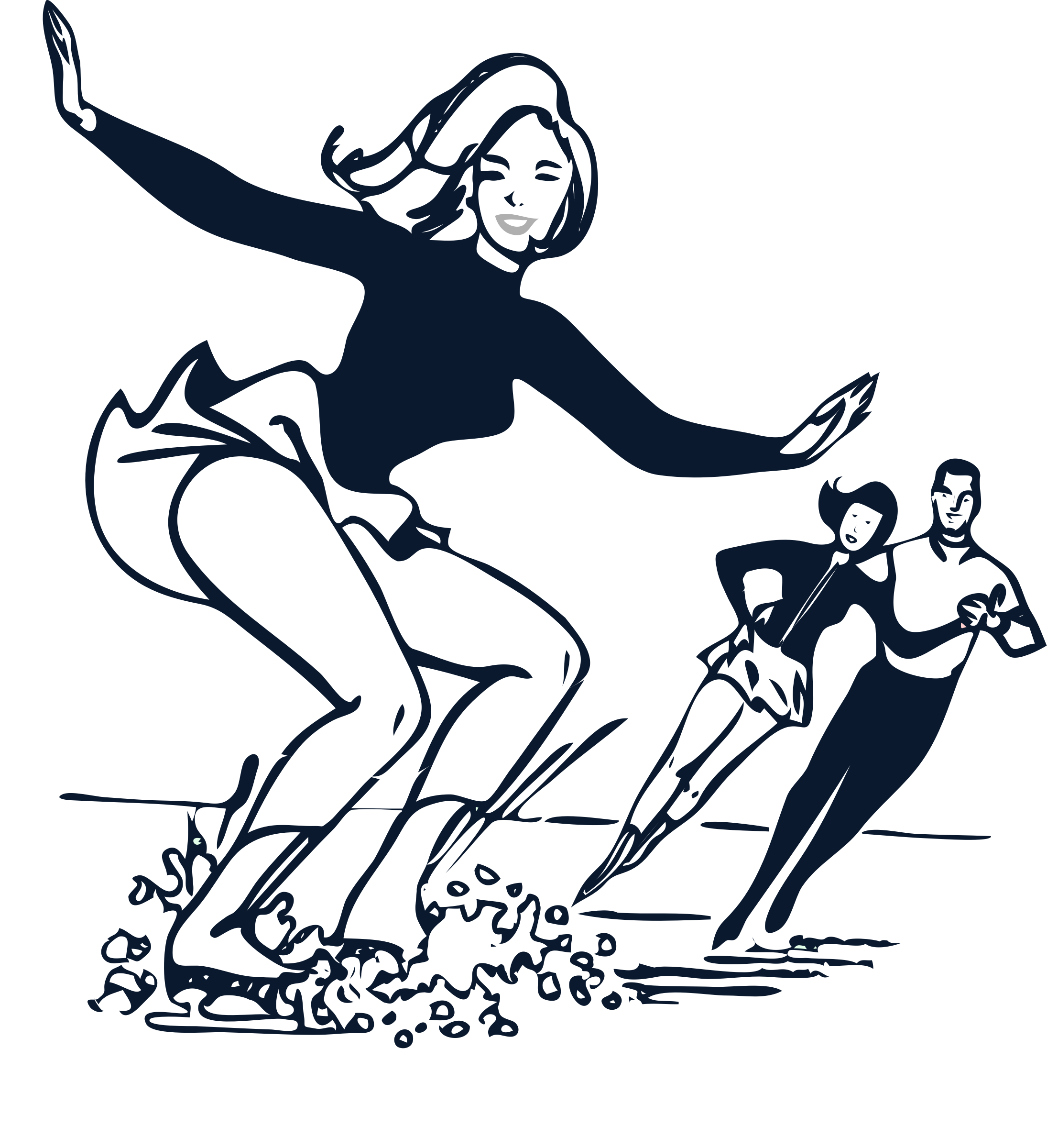 Clipart person ice skating. Coloring page big image