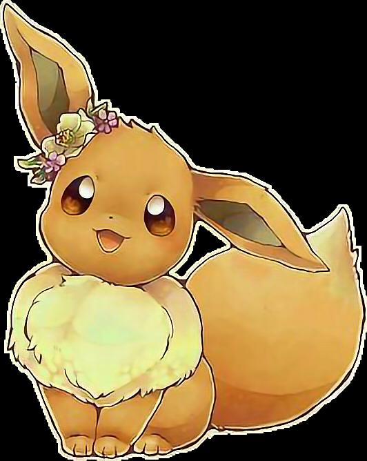 Kawaii sticker by stardaysi. Pokemon clipart eevee