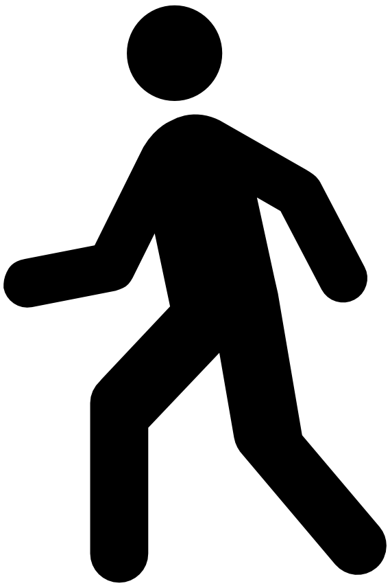 Physical activity healthy shetland. Clipart walking fast