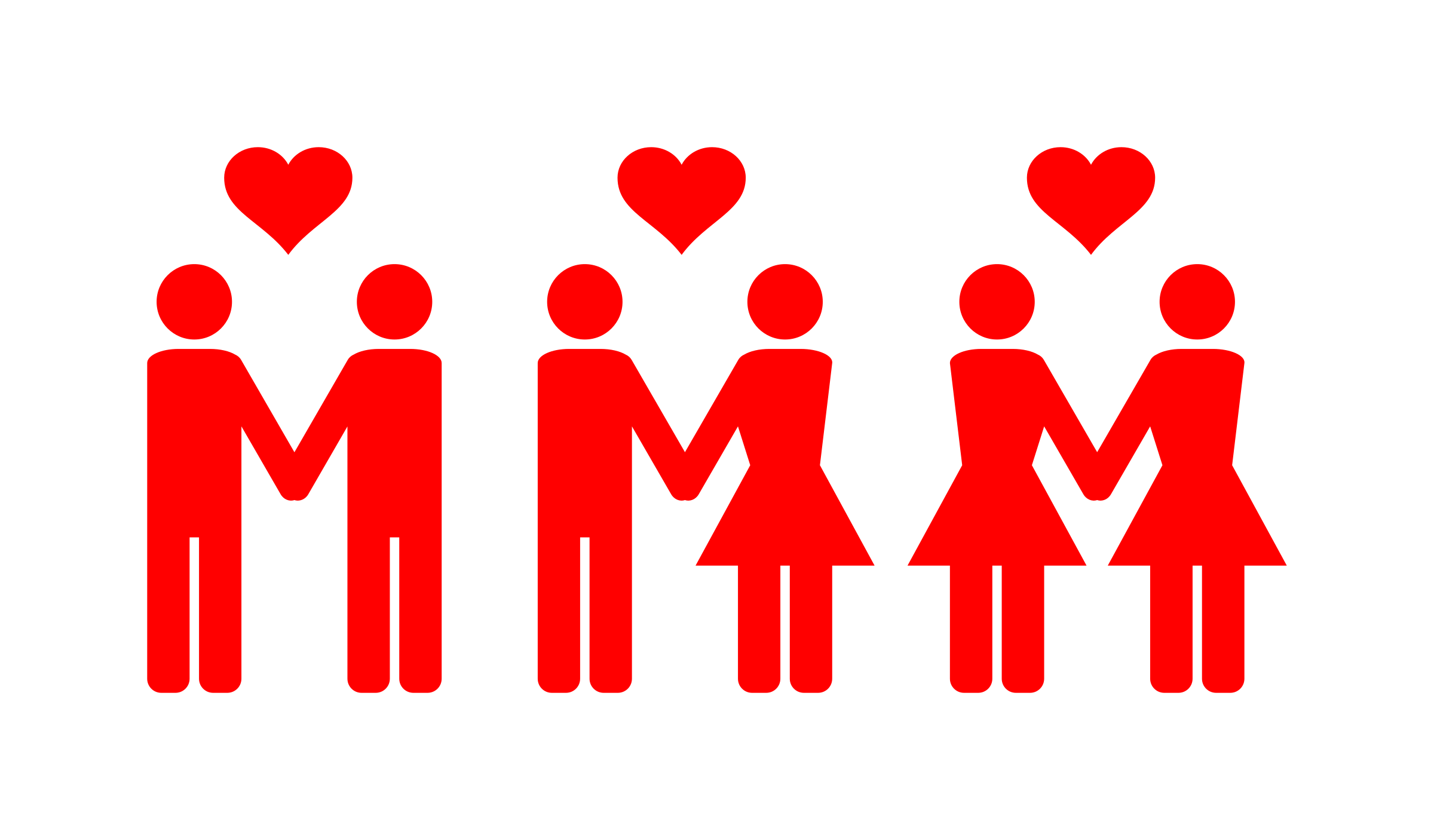 Clipart people love. Gay equal big image