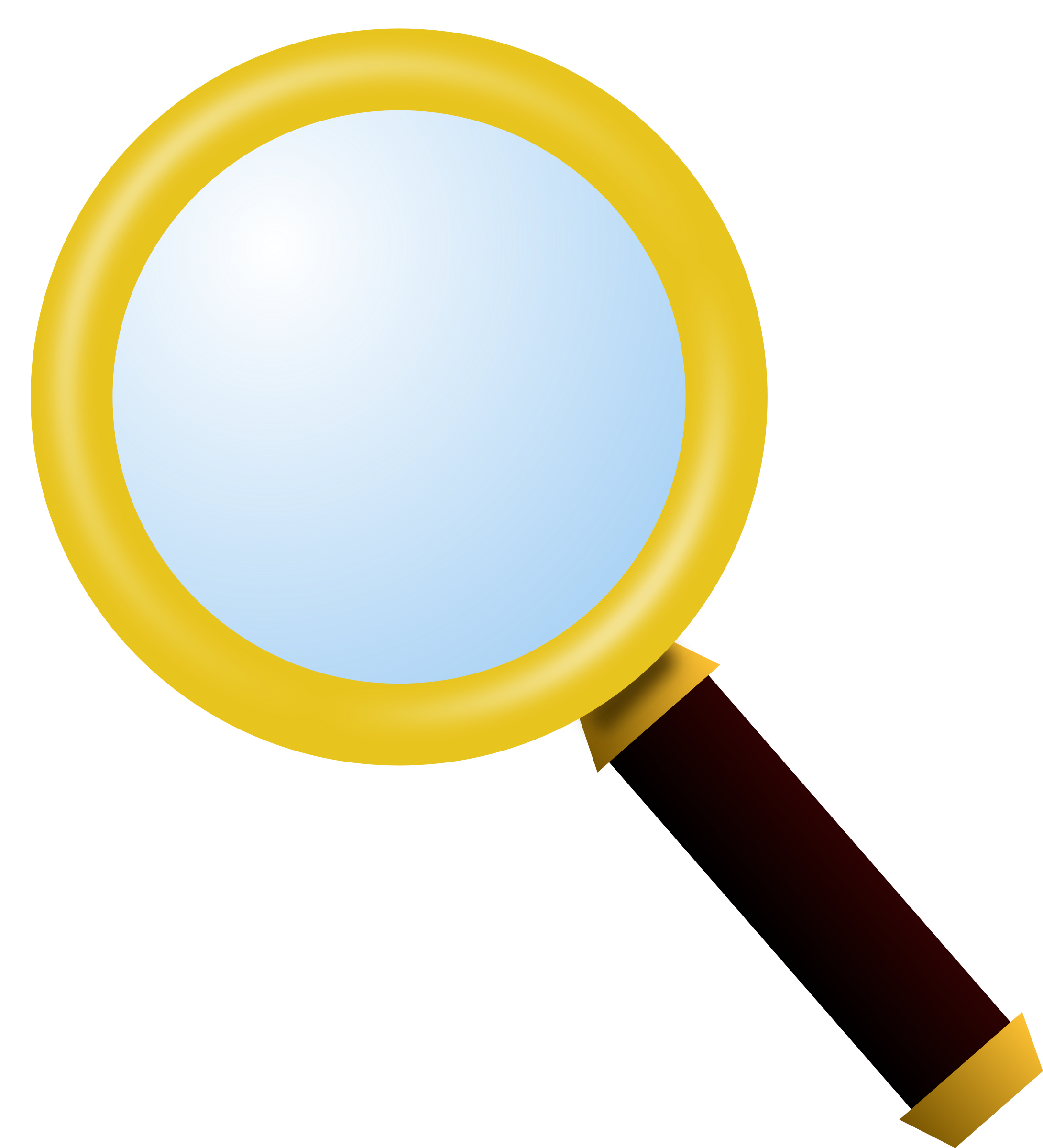 . People clipart magnifying glass