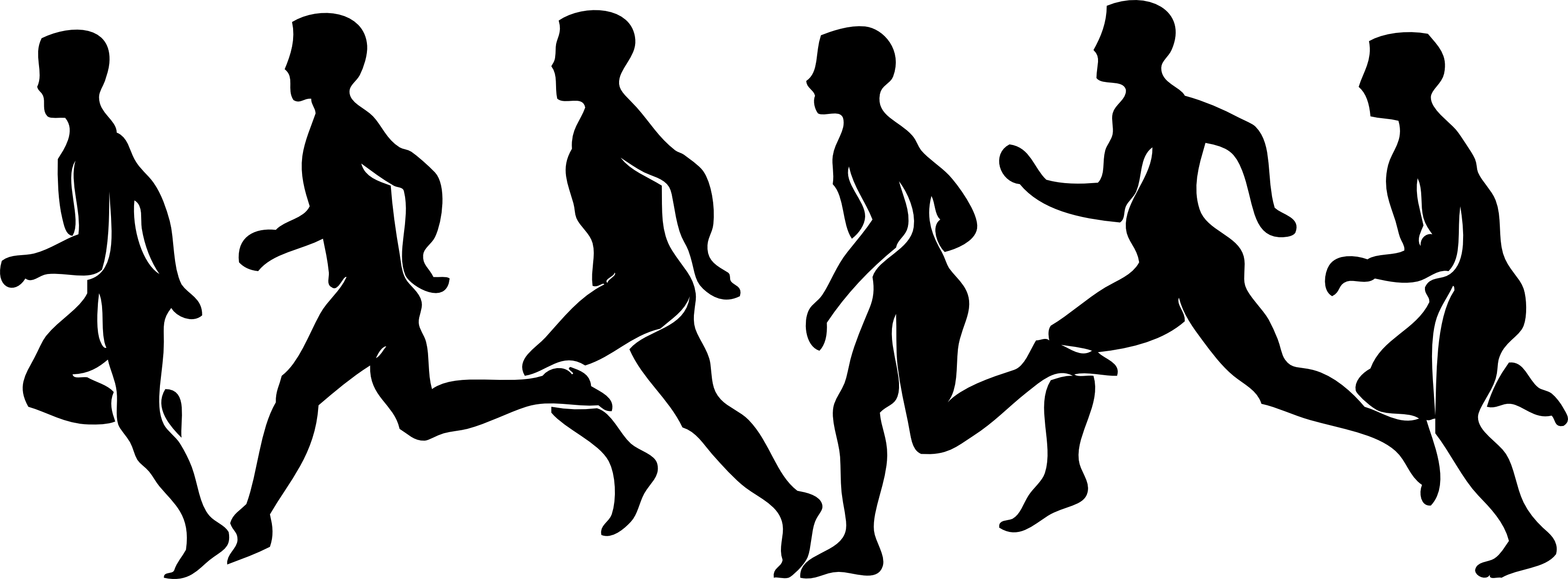 Exercising clipart runner. Person running people wikiclipart