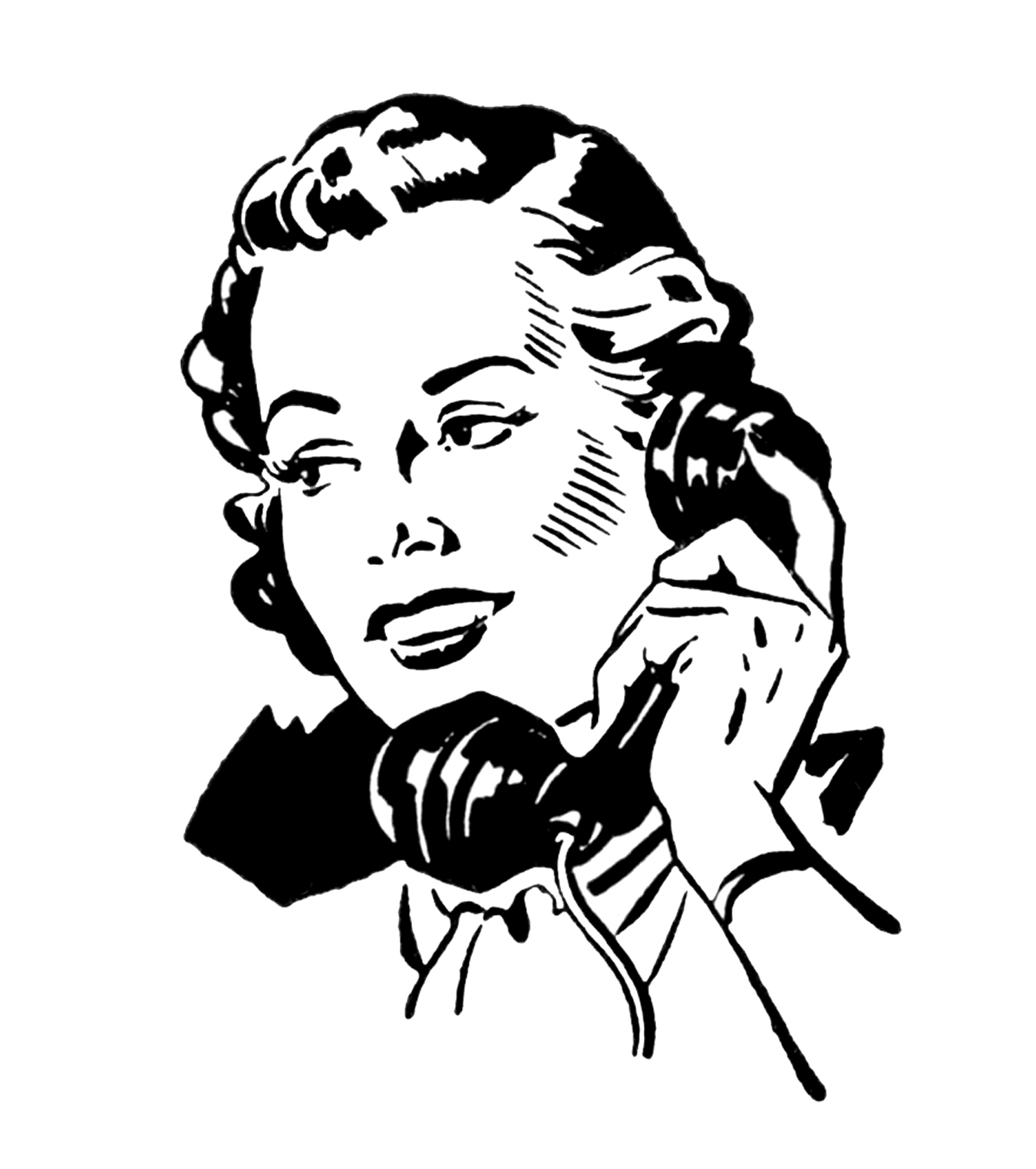 Phone clipart old fashioned phone.  vintage telephone images