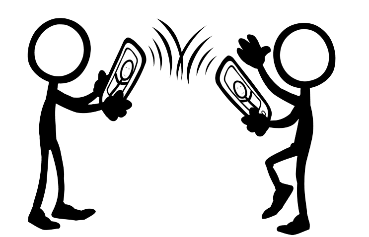 collection of two. Telephone clipart telephonic conversation