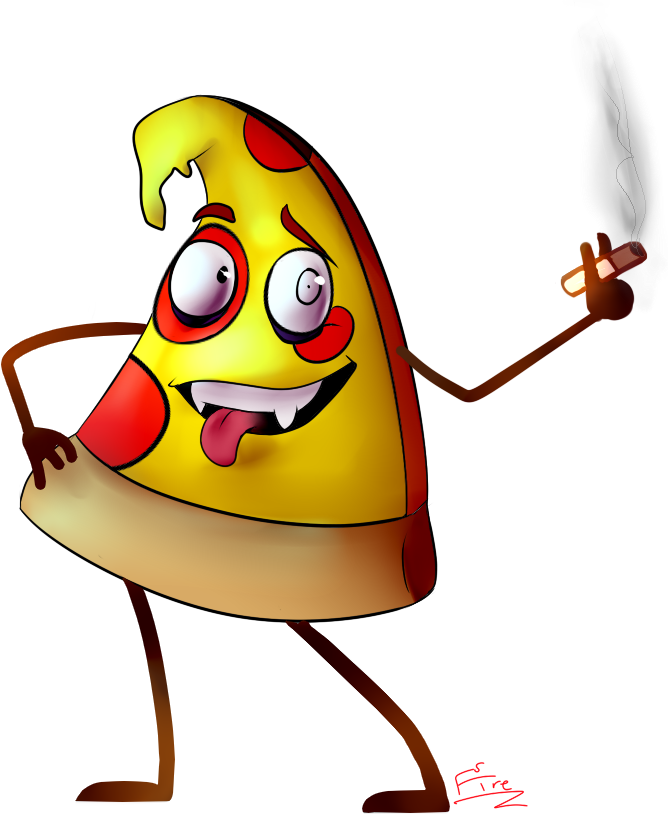 Cartoon man free download. People clipart pizza