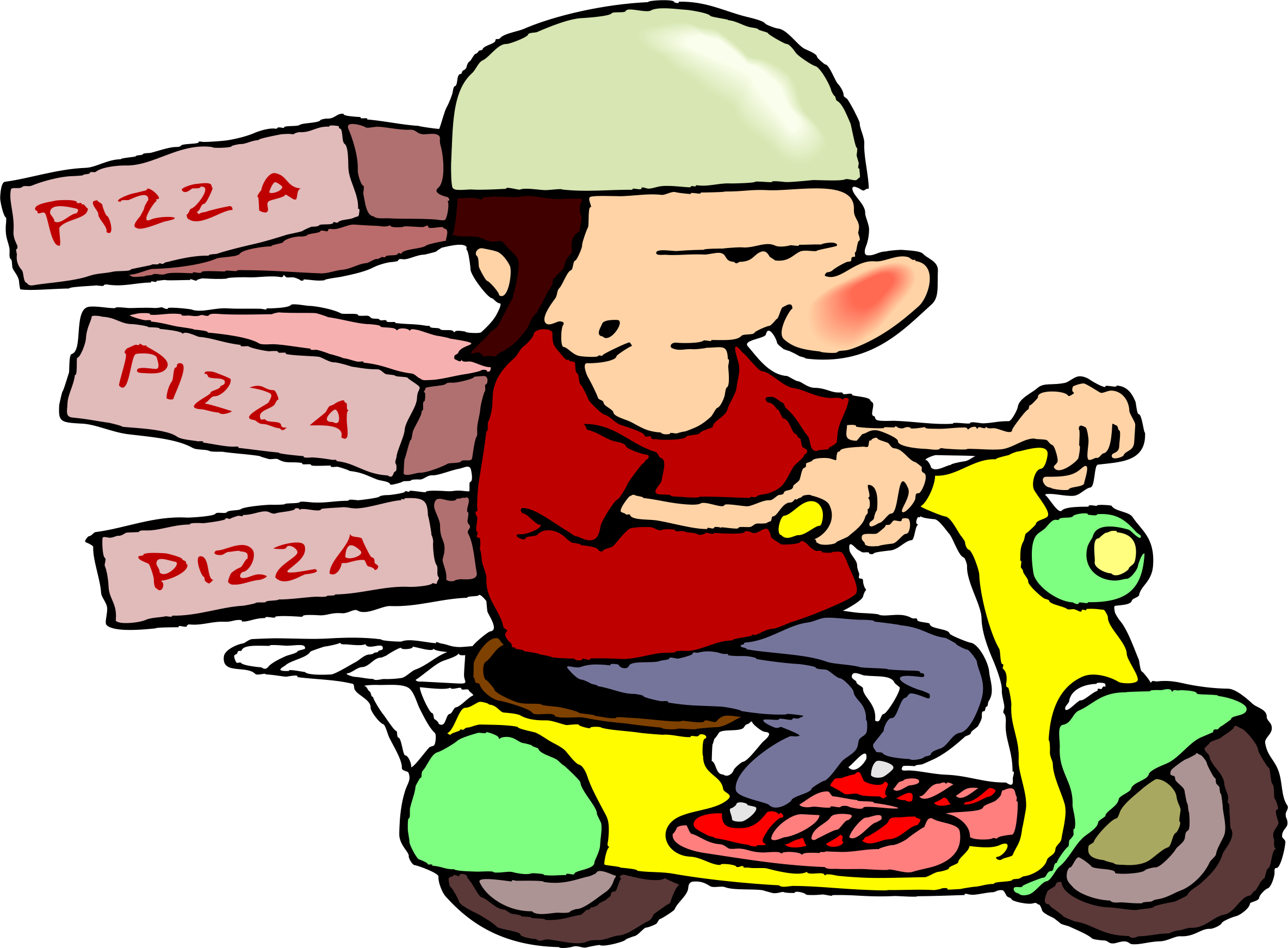 Man group free cliparthut. People clipart pizza