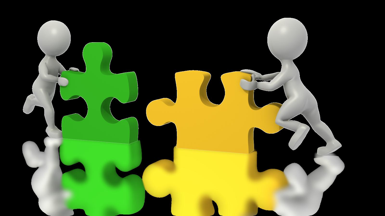 Vision clipart organization. People puzzle pieces luke