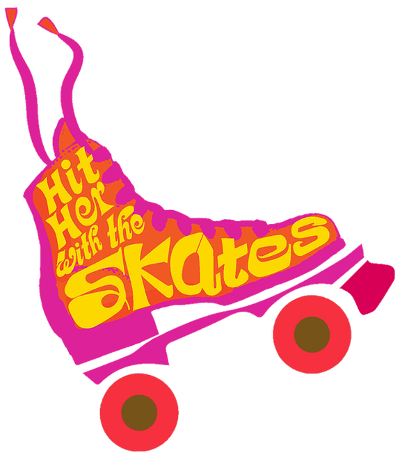 Hit her with the. Clipart people roller skating