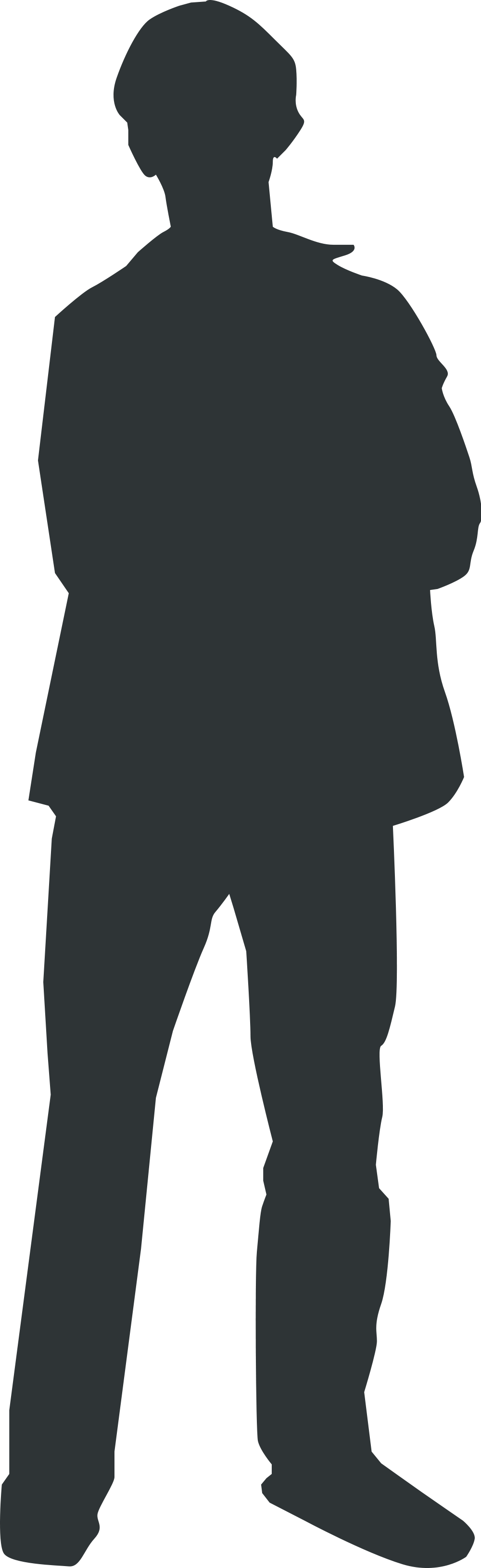 Person clipart shadow. File outline svg wikimedia