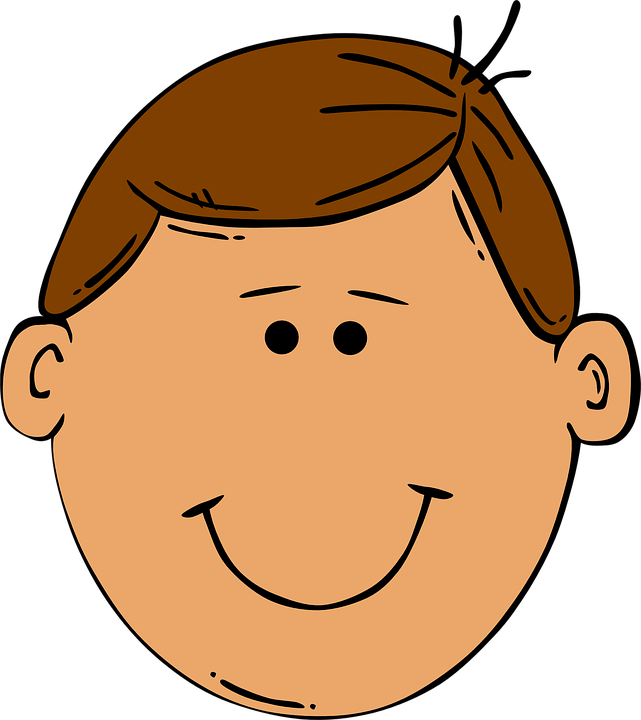 Clipart people smile. Happy and smiling boy