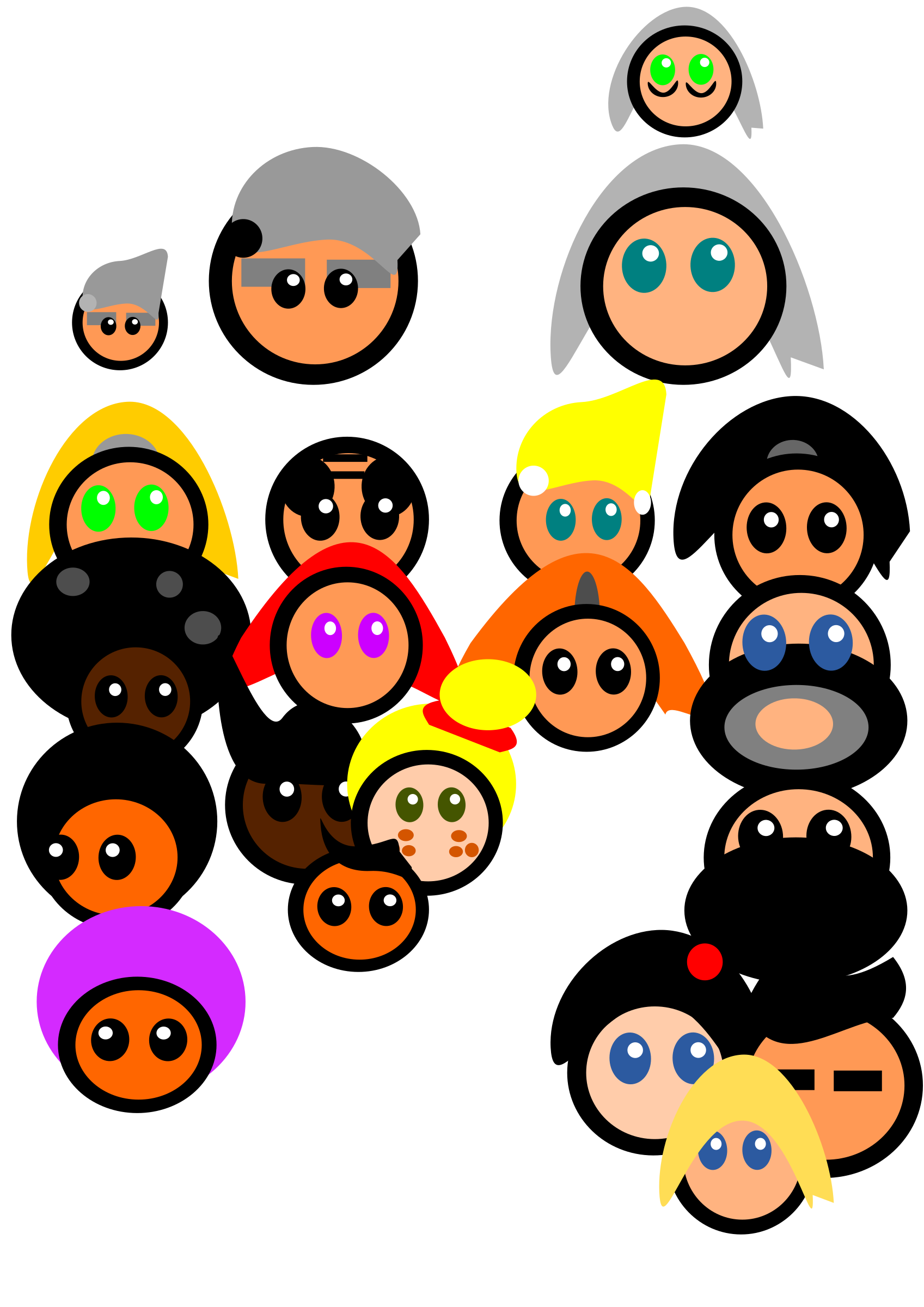 Pilot relationship free on. Faces clipart family tree