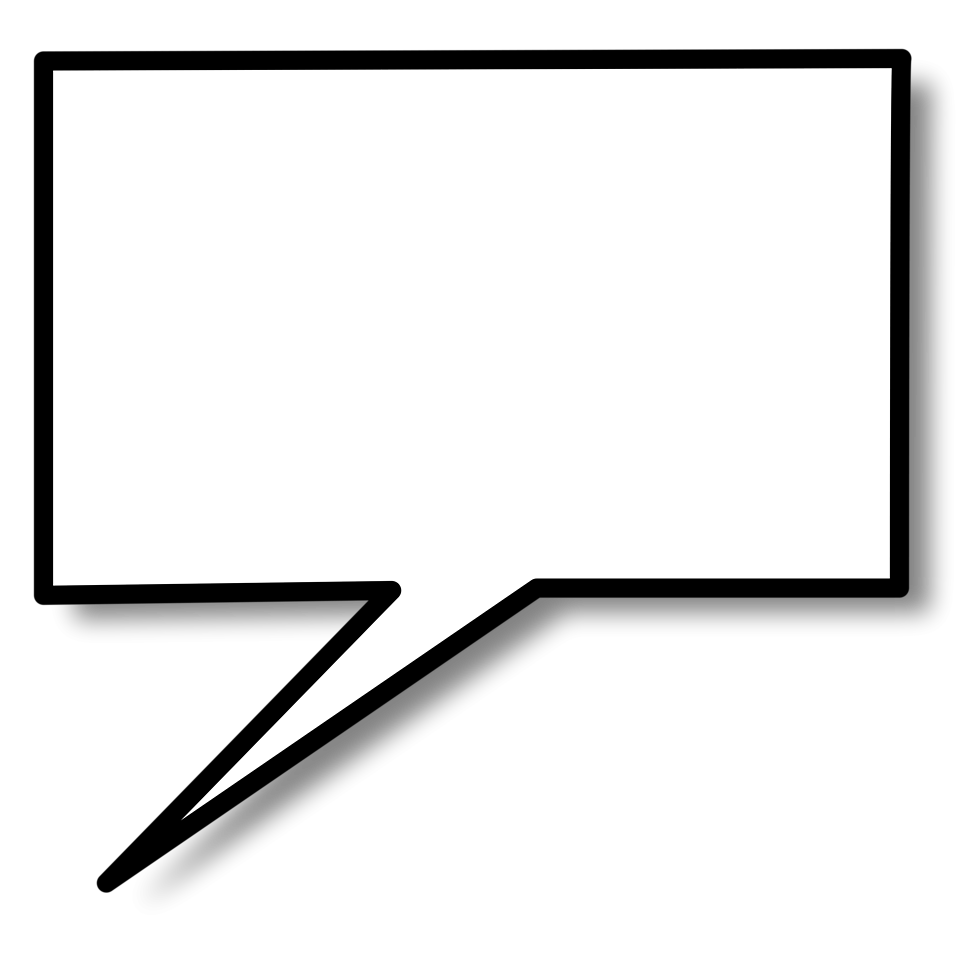 Speech bubble free stock. Clipart shapes dialogue