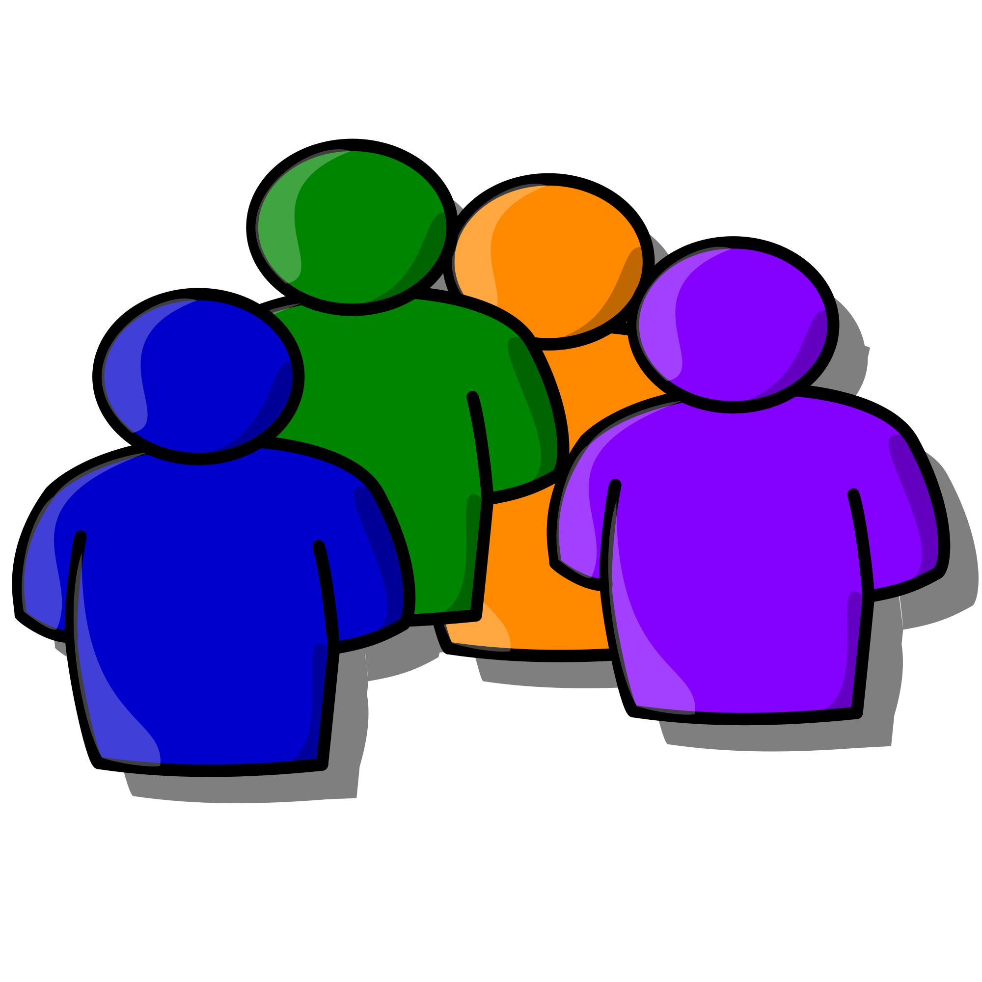 File people svg wikimedia. Contract clipart icon