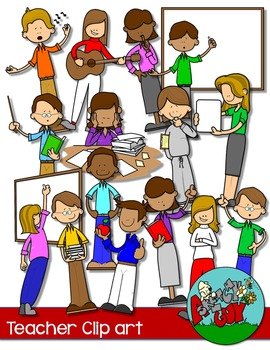 School teachers people fun. Learning clipart teacher