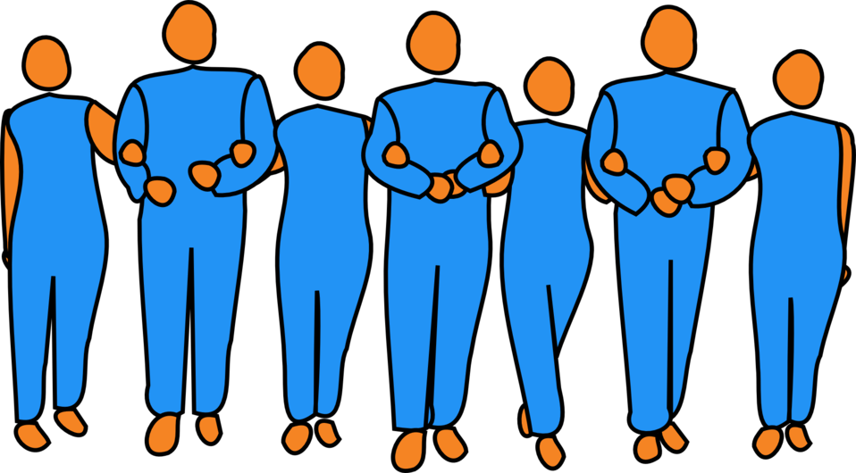 Teamwork clipart person. Public domain clip art