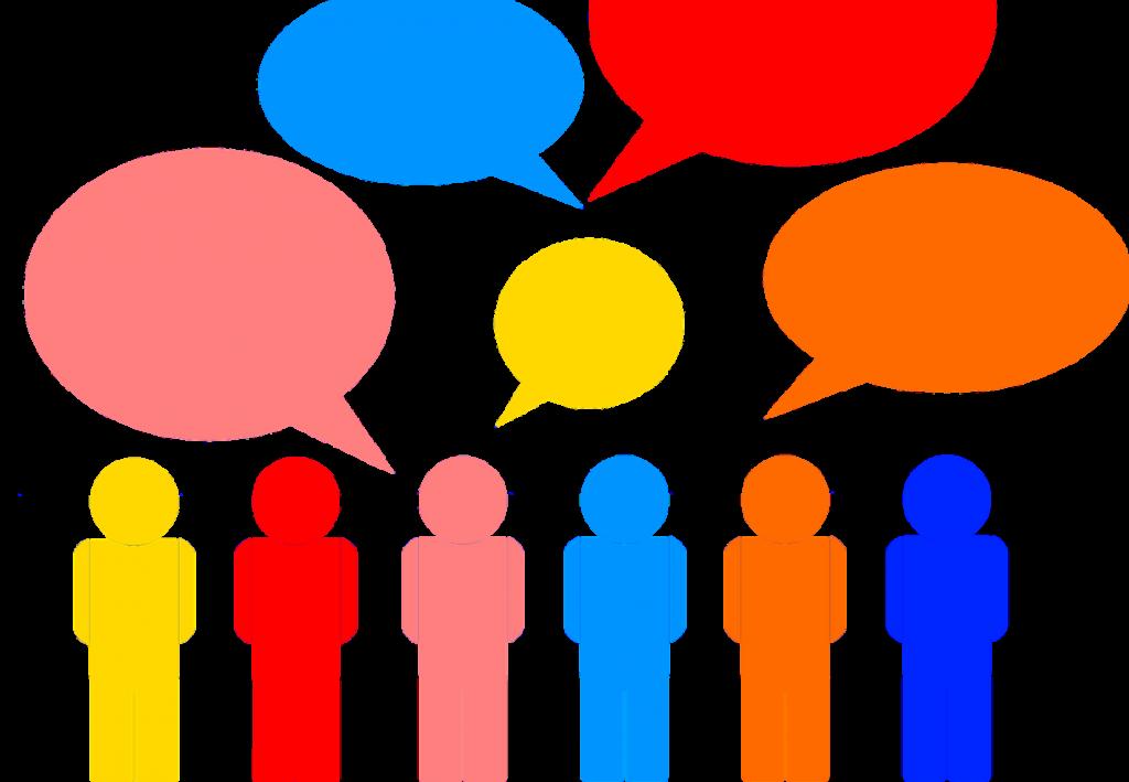 conversation clipart topic