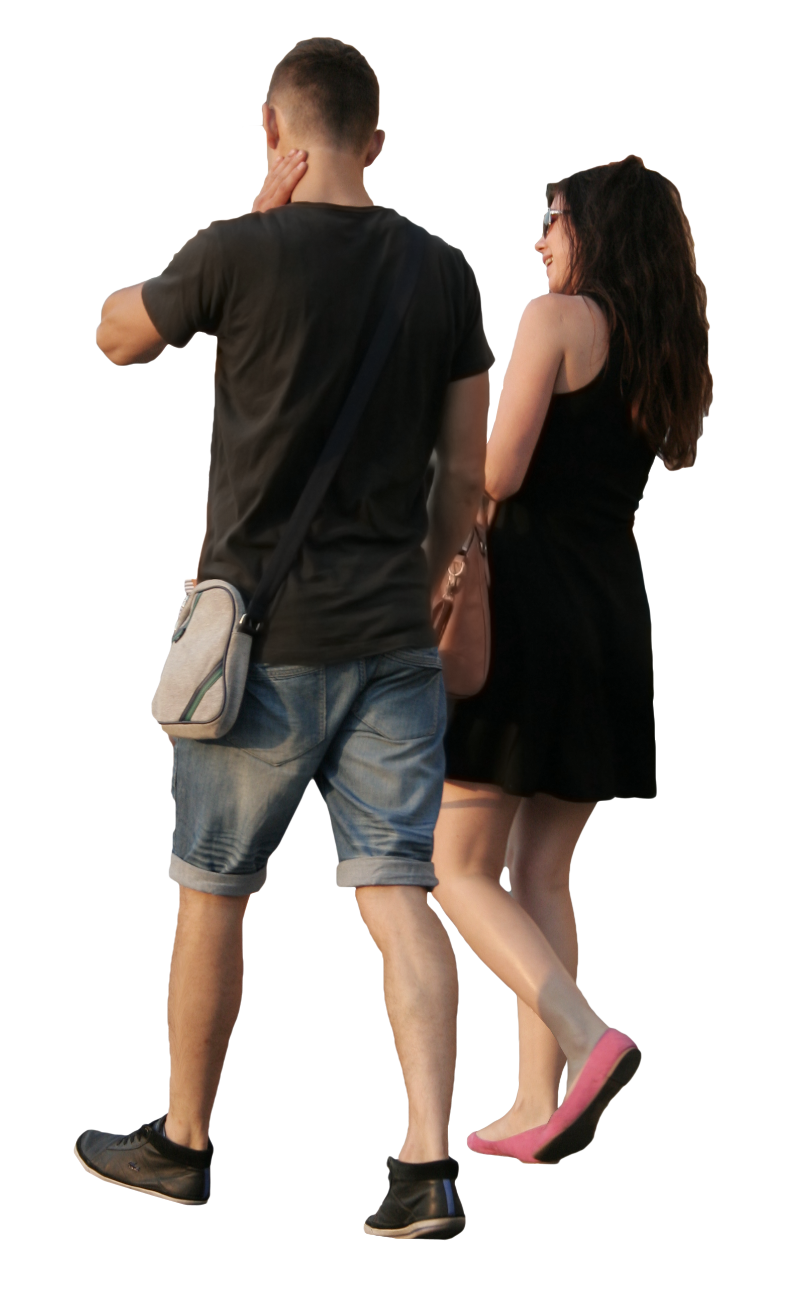Couple clipart shopping. People png images transparent