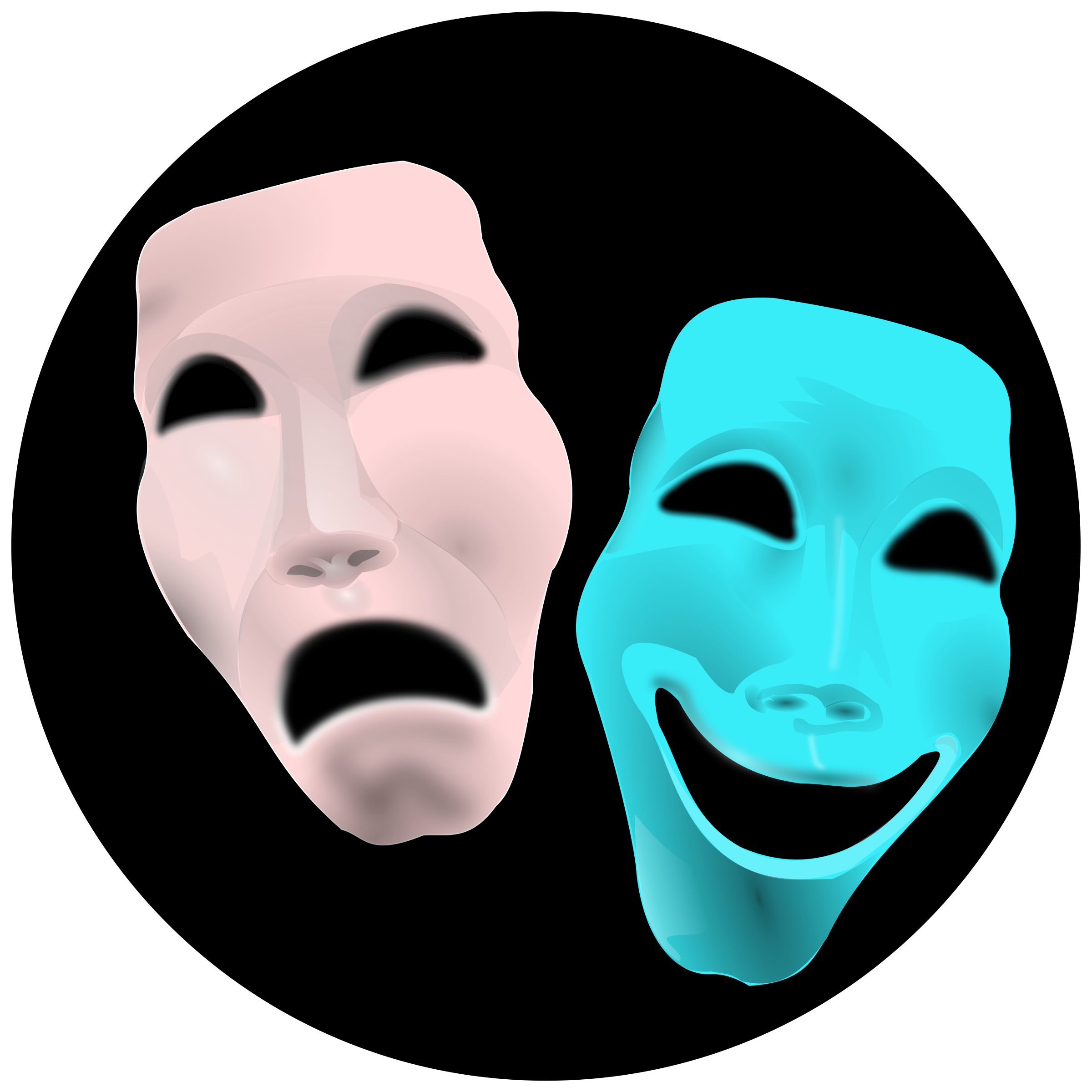 Faces clipart theater. Theatre big image png