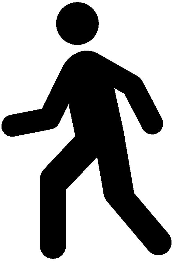 Man silhouette at getdrawings. Clipart walking vector