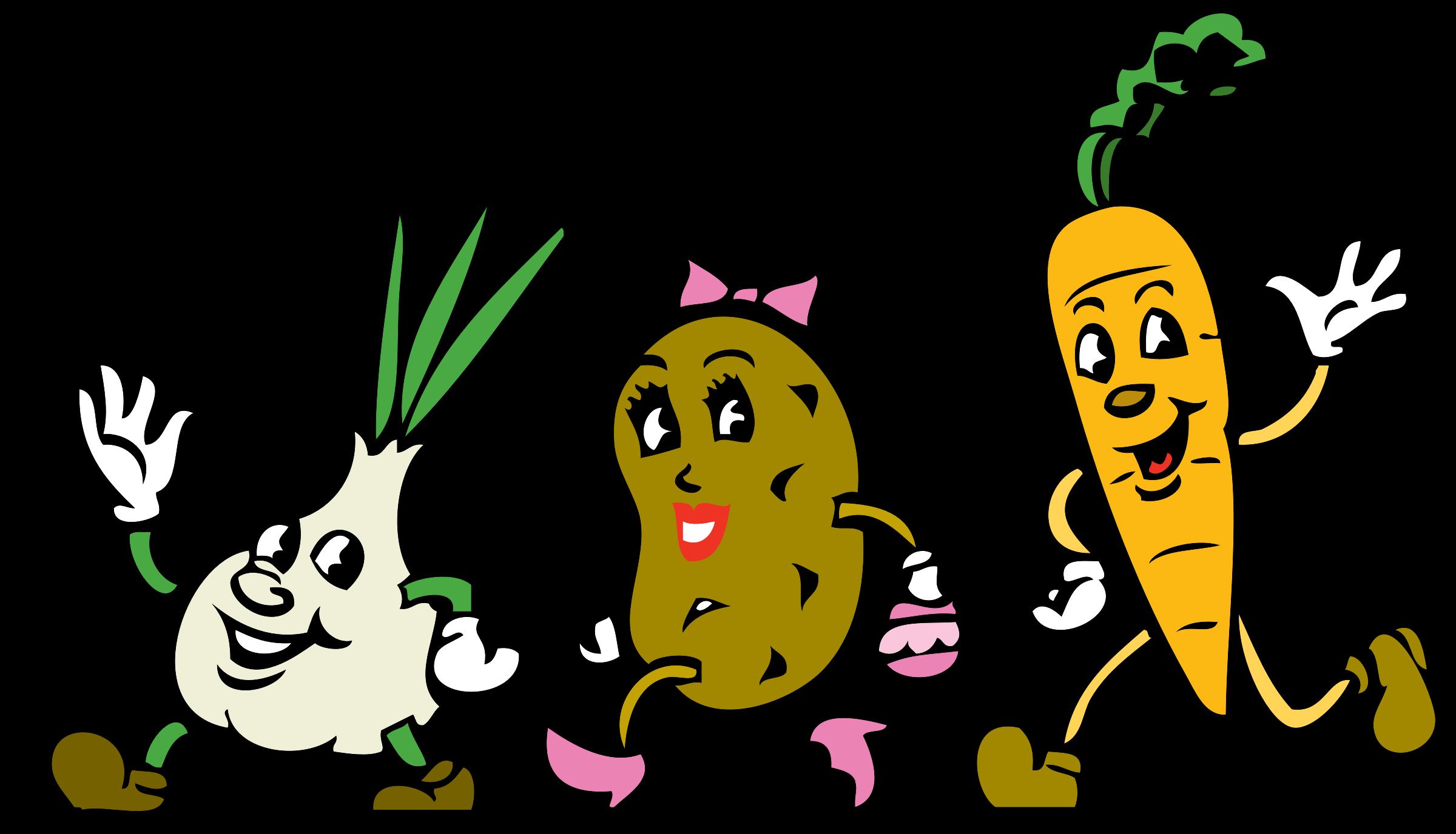 Clipart people vegetable. Veggies big image png