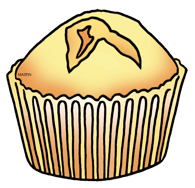 Cornbread collection united states. Muffins clipart large
