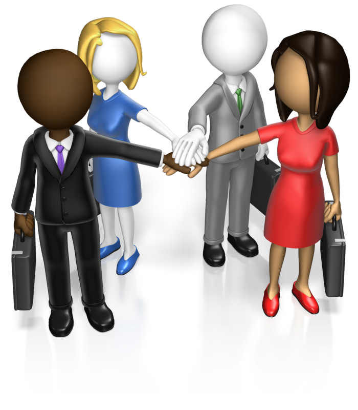 Teamwork clipart group 4. Blank page n