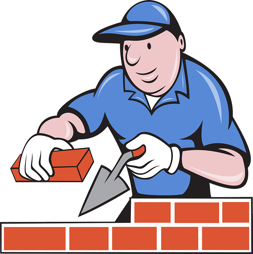 Bricklayer freemasonry clip art. Clipart person cut out