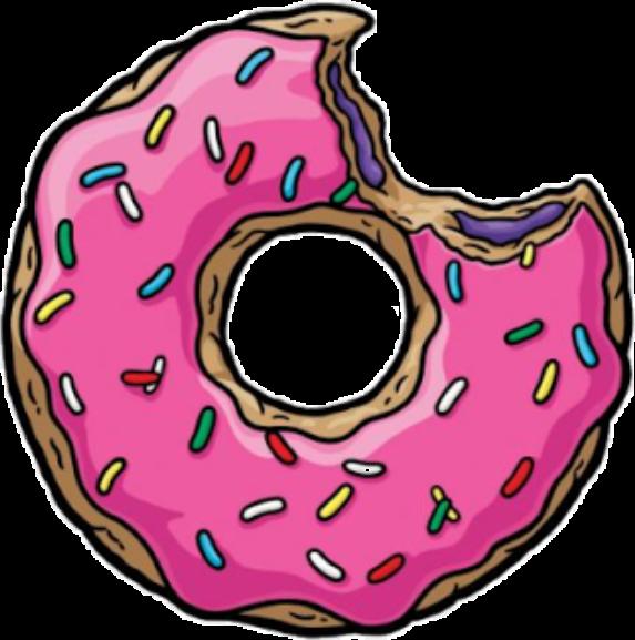 donut clipart person
