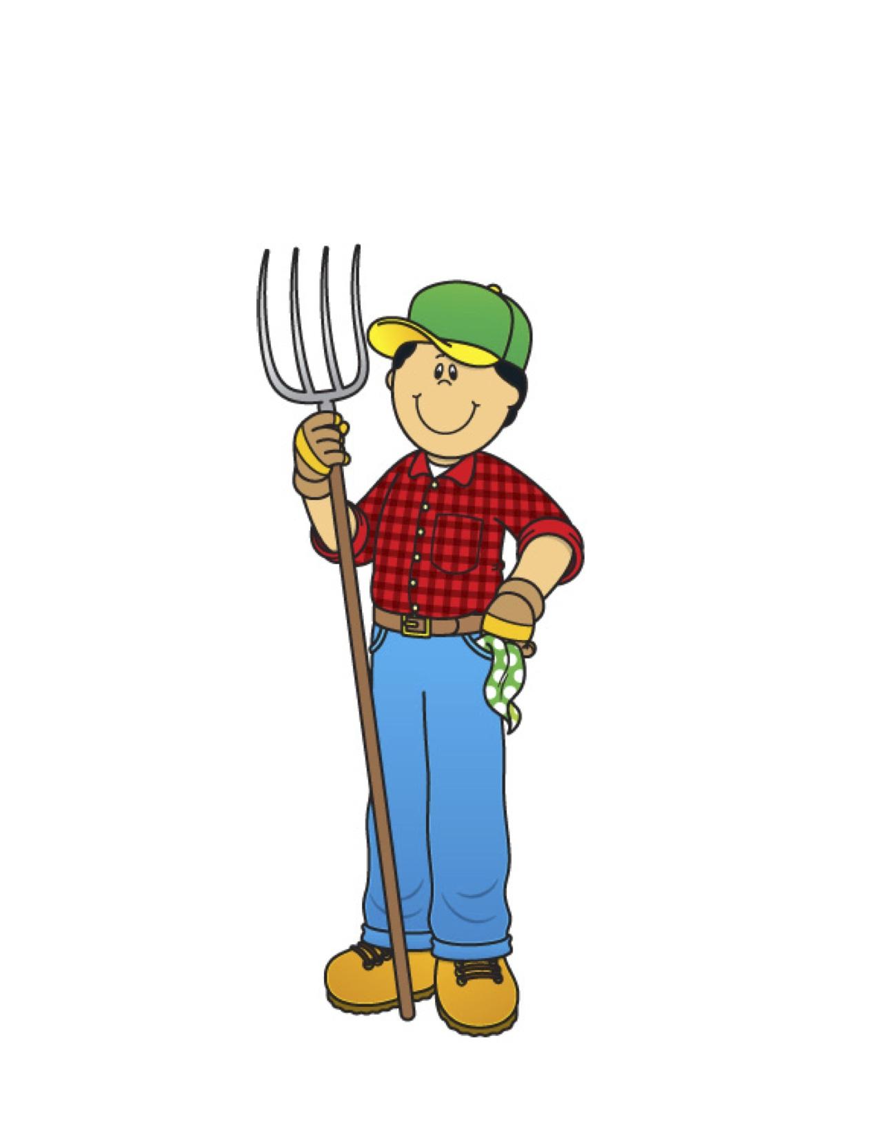 Free boy farming cliparts. Farm clipart person