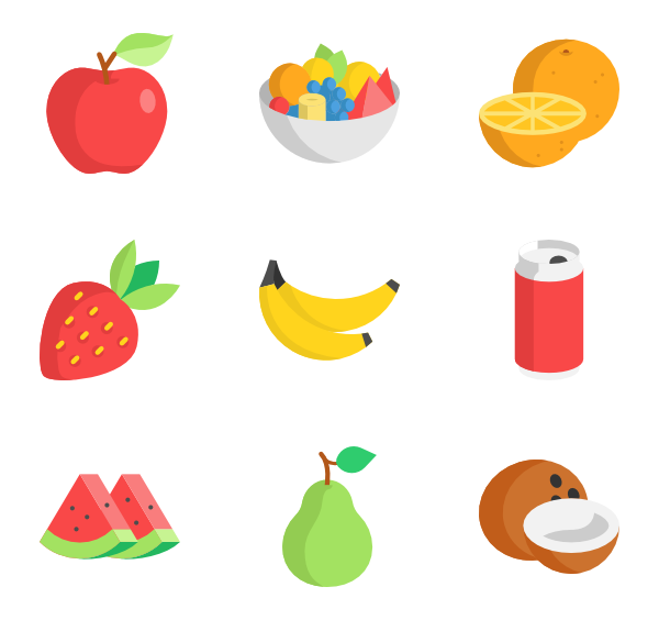 Pear clipart individual fruit.  fruits icon packs