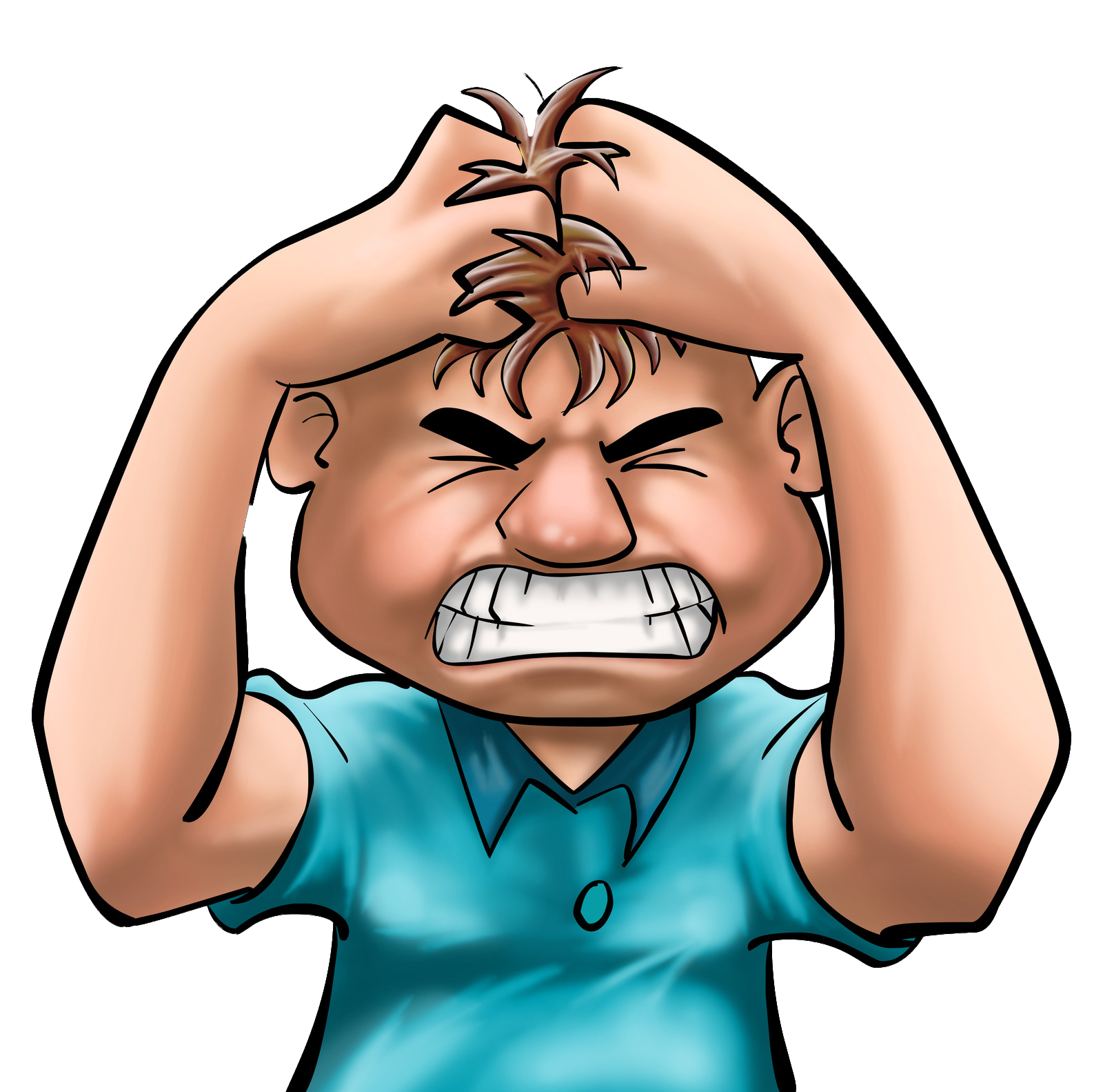 Mad clipart furious. Anger frustrated kid free