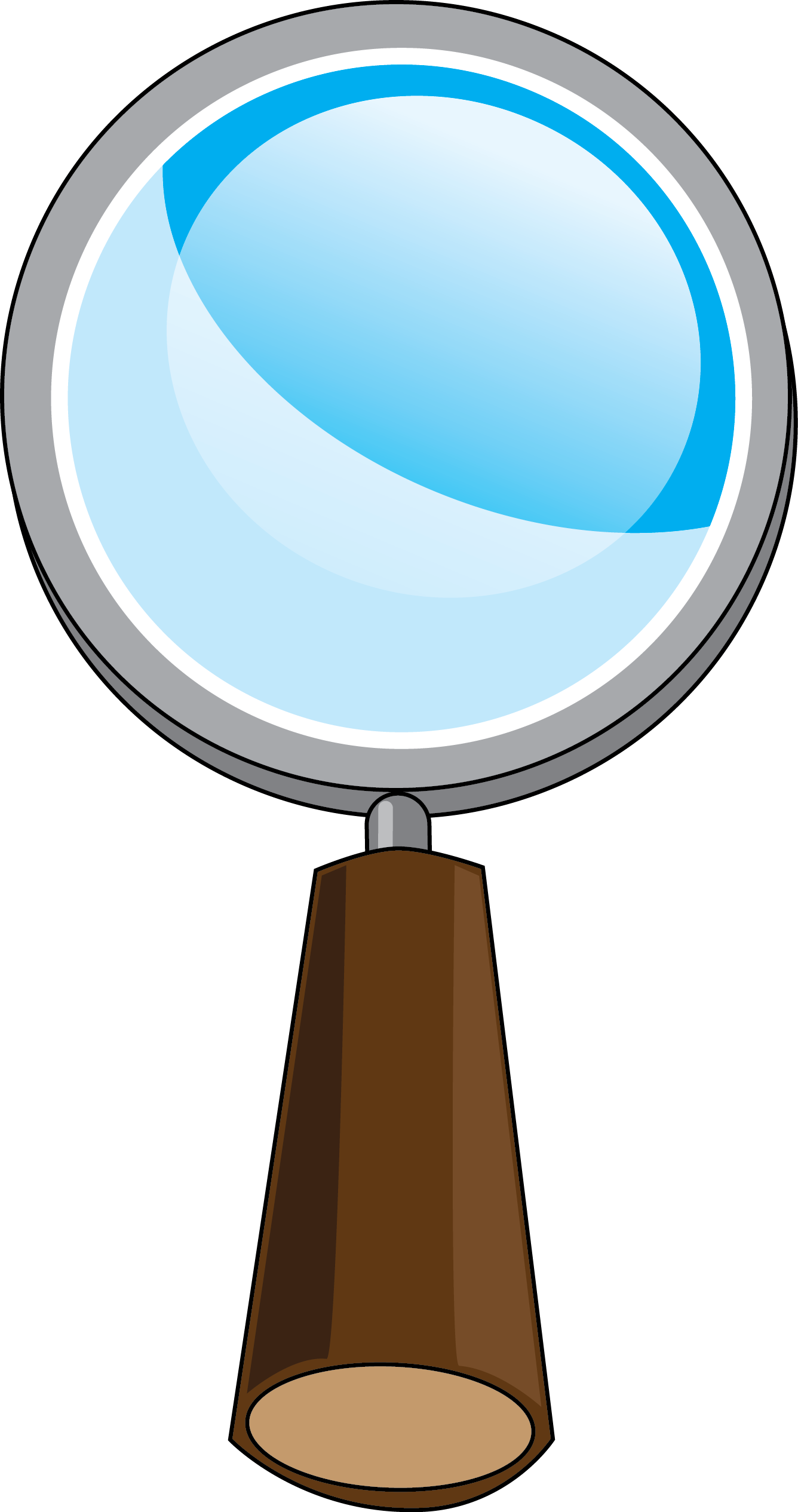 Evidence clipart magnifying glass.  cartoon images of