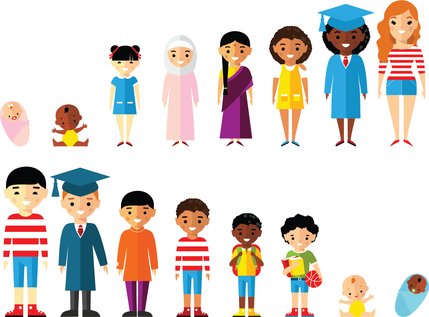 collection of child. Clipart person marathi
