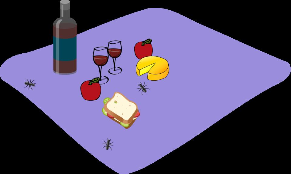 Public domain clip art. Clipart person picnic
