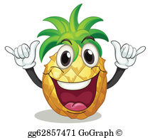 Clip art royalty free. Clipart pineapple person