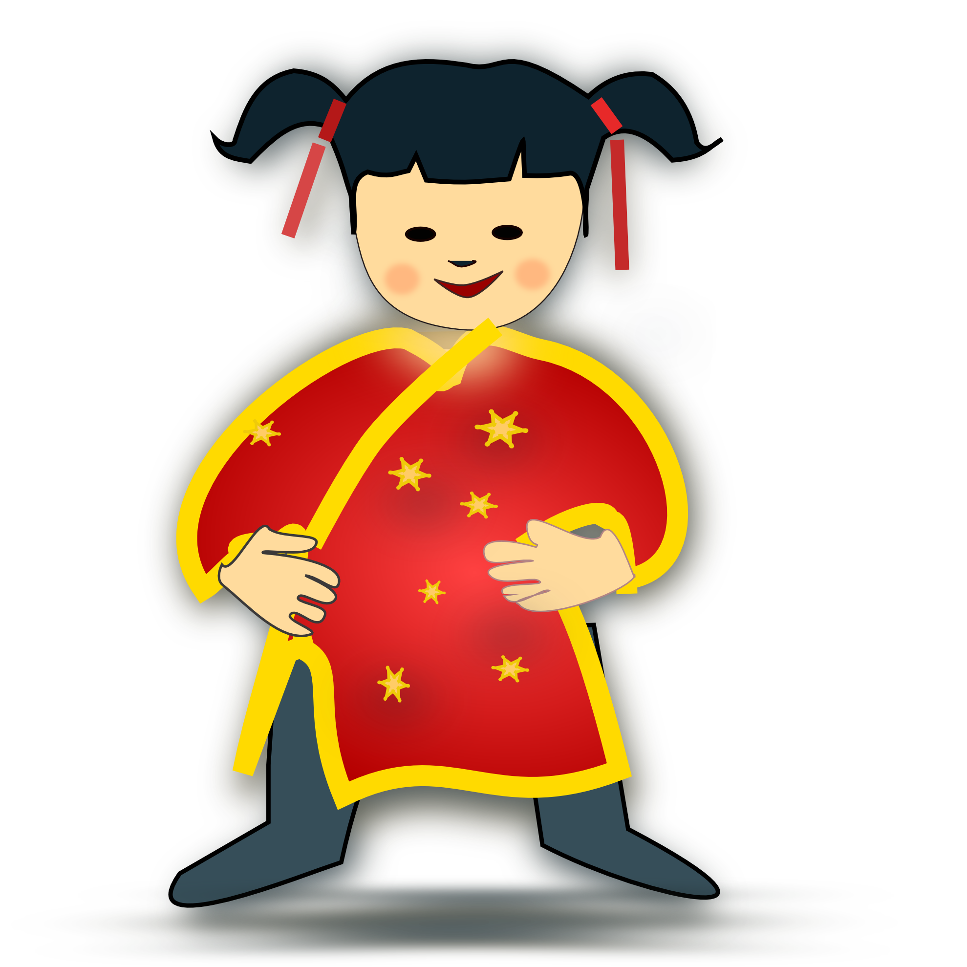 collection of png. Family clipart chinese new year