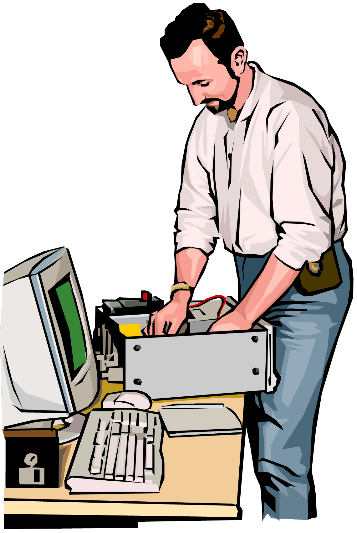 Browsetoknow com. Person clipart technology