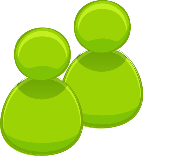 Men clipart green. Two people clip art