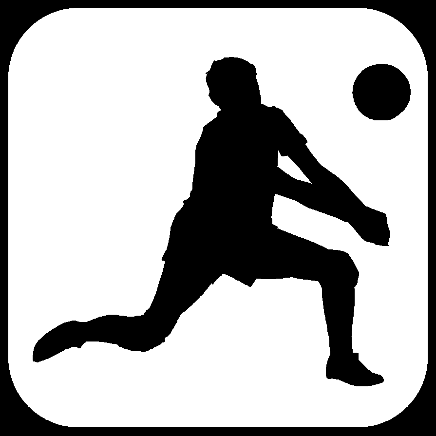 Volleyball clipart football. Best player clipartion com