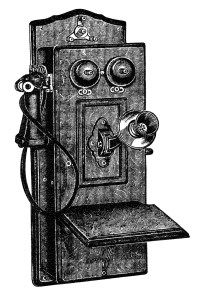 Antique clip art black. Clipart telephone old fashioned telephone